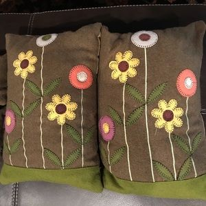 Other - Felted Wool Penny Pillows